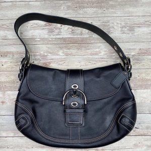 Coach Soho Large F10192 Black Shoulder Strap Bag
